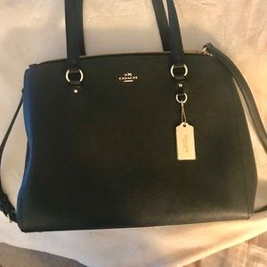 COACH BLACK Shoulder/Crossbody Bag!